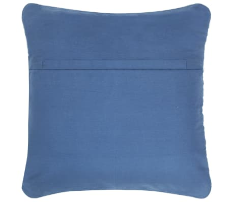 vidaXL Poduszki Chindi, 2 szt., dżinsowe, 45x45 cm, bawełna[3/5]