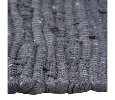 vidaXL Stalo kilimėliai, 4 vnt., antracito spalvos, 30x45cm, chindi[4/5]