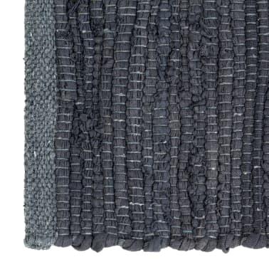 vidaXL Stalo kilimėliai, 4 vnt., antracito spalvos, 30x45cm, chindi[3/5]