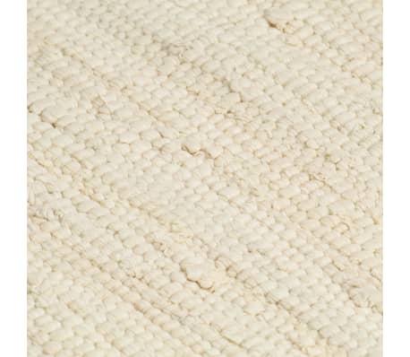 vidaXL Prestierania 6 ks chindi krémové 30x45 cm bavlnené[5/5]