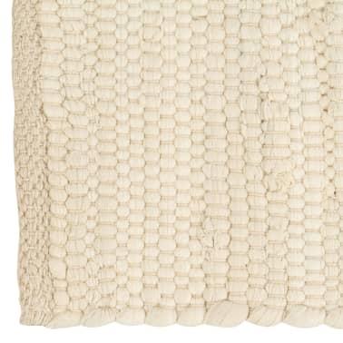 vidaXL Prestierania 6 ks chindi krémové 30x45 cm bavlnené[3/5]
