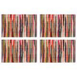 vidaXL Prestierania 4 ks chindi viacfarebné 30x45 cm bavlnené