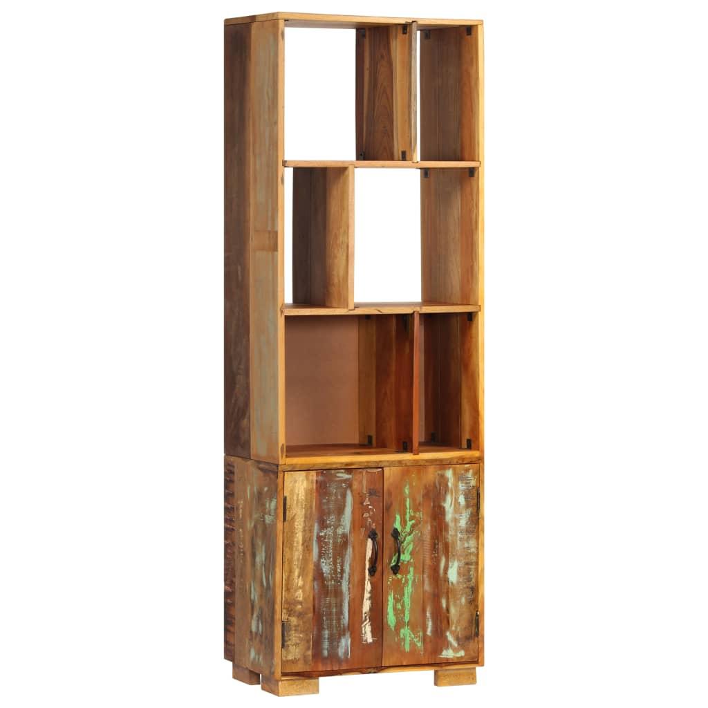 vidaXL Boekenkast 60x35x180 cm massief gerecycled hout