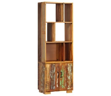 """vidaXL Bookshelf 23.6""""x13.8""""x70.9"""" Solid Reclaimed Wood"""