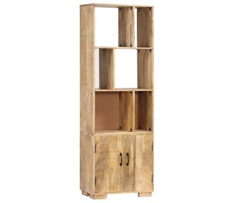 """vidaXL Bookshelf 23.6""""x13.8""""x70.9"""" Solid Mango Wood[1/12]"""