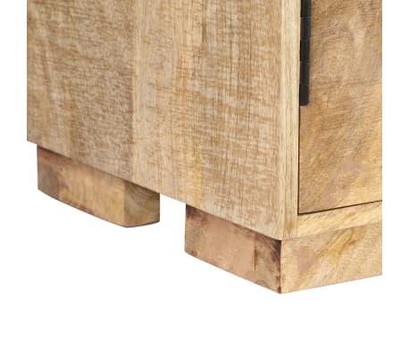 """vidaXL Bookshelf 23.6""""x13.8""""x70.9"""" Solid Mango Wood[4/12]"""