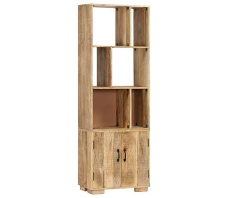 """vidaXL Bookshelf 23.6""""x13.8""""x70.9"""" Solid Mango Wood[10/12]"""