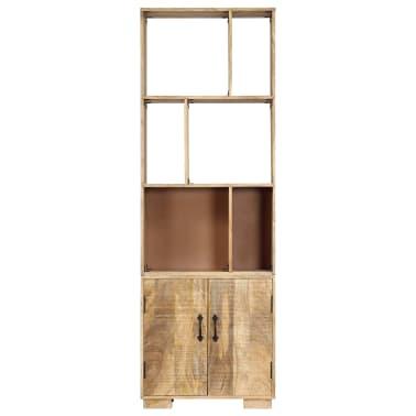 """vidaXL Bookshelf 23.6""""x13.8""""x70.9"""" Solid Mango Wood[2/12]"""