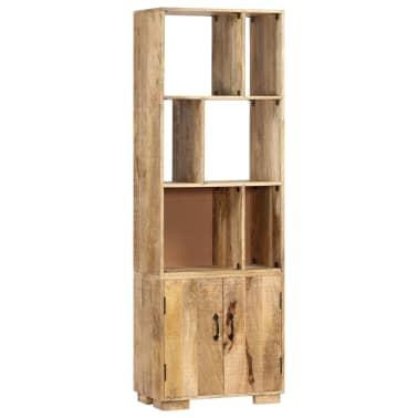"""vidaXL Bookshelf 23.6""""x13.8""""x70.9"""" Solid Mango Wood[11/12]"""