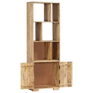 """vidaXL Bookshelf 23.6""""x13.8""""x70.9"""" Solid Mango Wood[3/12]"""
