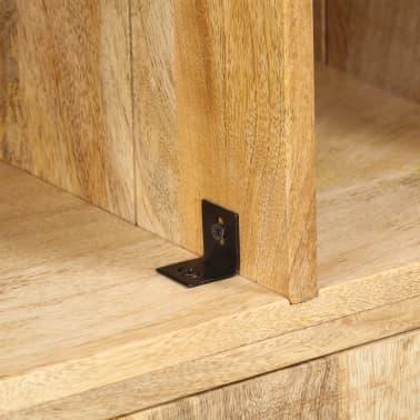 """vidaXL Bookshelf 23.6""""x13.8""""x70.9"""" Solid Mango Wood[5/12]"""
