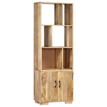 """vidaXL Bookshelf 23.6""""x13.8""""x70.9"""" Solid Mango Wood[8/12]"""