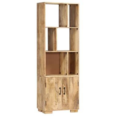 """vidaXL Bookshelf 23.6""""x13.8""""x70.9"""" Solid Mango Wood[9/12]"""