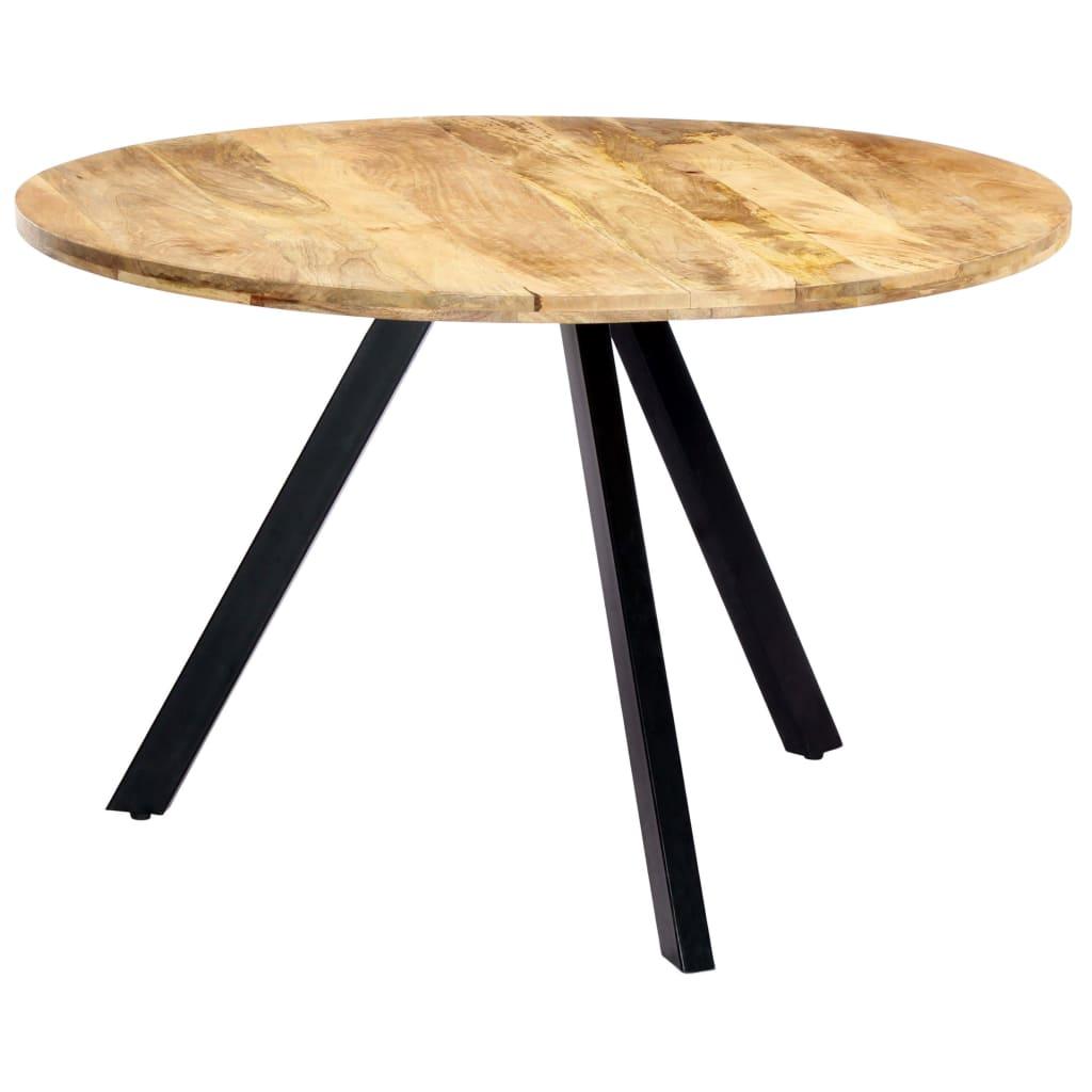 Dieser Esstisch im Industrie-Stil ist eine echt markante Ergänzung für Ihre Küche oder Ihr Esszimmer.
