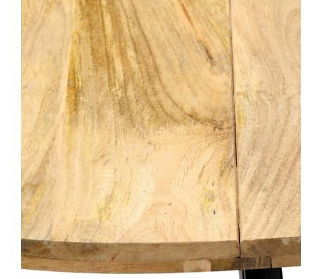 vidaXL Jedilna miza 120x73 cm trden mangov les[5/10]