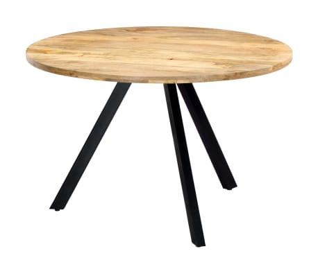vidaXL Jedilna miza 120x73 cm trden mangov les[9/10]