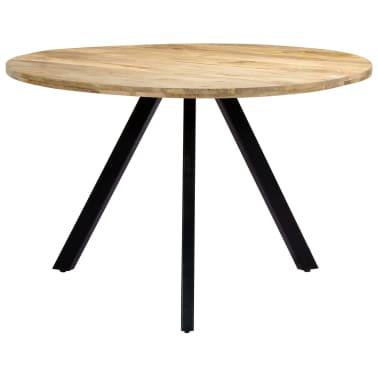 vidaXL Jedilna miza 120x73 cm trden mangov les[2/10]