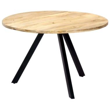 vidaXL Jedilna miza 120x73 cm trden mangov les[7/10]
