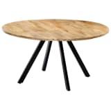 vidaXL Dining Table 150x73 cm Solid Mango Wood