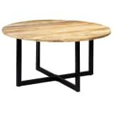 vidaXL Table de salle à manger 150x73 cm Bois de manguier solide