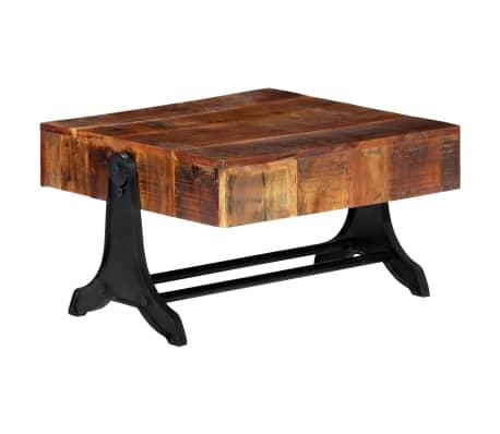 vidaXL Konferenční stolek 77 x 70 x 40 cm masivní recyklované dřevo