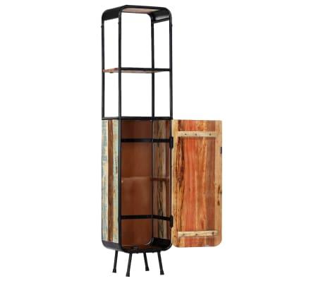 vidaXL Dulap înalt, 40 x 30 x 180 cm, lemn masiv reciclat[3/14]