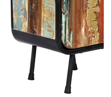 vidaXL Dulap înalt, 40 x 30 x 180 cm, lemn masiv reciclat[9/14]