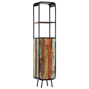 vidaXL Dulap înalt, 40 x 30 x 180 cm, lemn masiv reciclat[11/14]