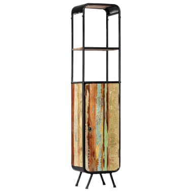 vidaXL Dulap înalt, 40 x 30 x 180 cm, lemn masiv reciclat[14/14]