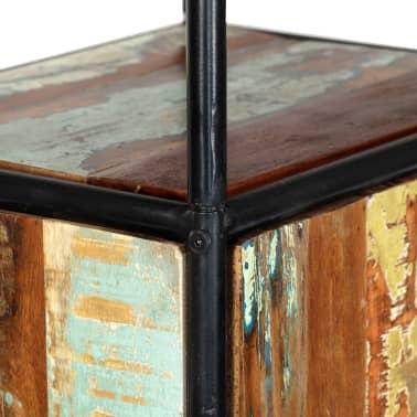 vidaXL Dulap înalt, 40 x 30 x 180 cm, lemn masiv reciclat[7/14]
