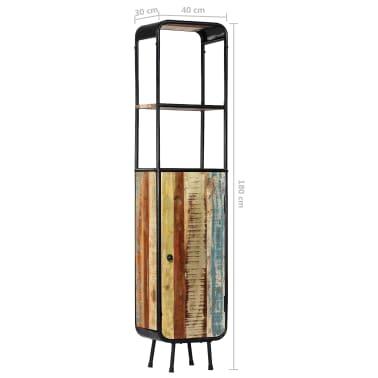 vidaXL Dulap înalt, 40 x 30 x 180 cm, lemn masiv reciclat[10/14]