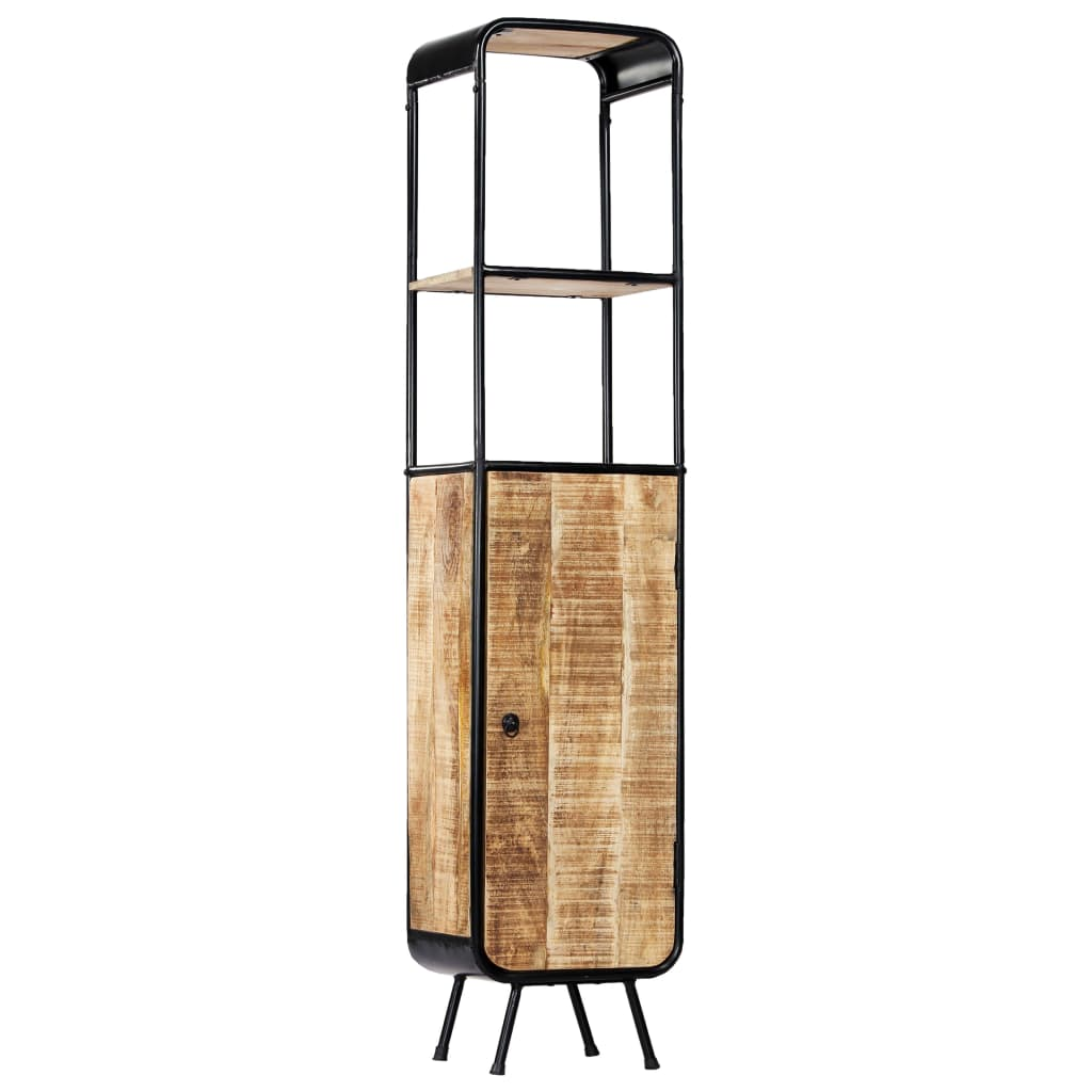 vidaXL Dulap înalt, 40 x 30 x 180 cm, lemn masiv de mango nefinisat poza vidaxl.ro