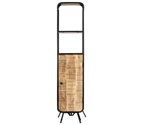 vidaXL Dulap înalt, 40 x 30 x 180 cm, lemn masiv de mango nefinisat[2/14]