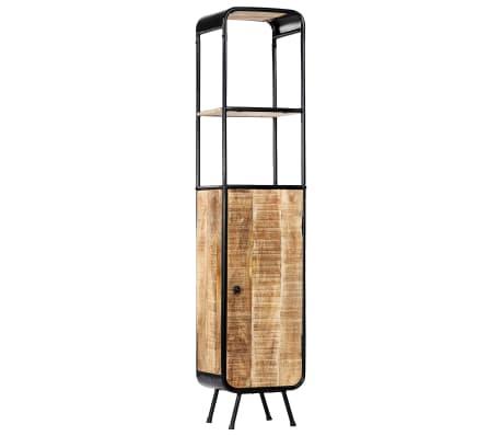 vidaXL Dulap înalt, 40 x 30 x 180 cm, lemn masiv de mango nefinisat[11/14]