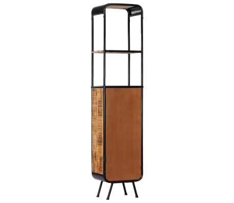 vidaXL Dulap înalt, 40 x 30 x 180 cm, lemn masiv de mango nefinisat[4/14]