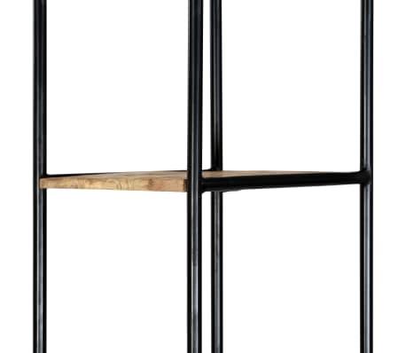 vidaXL Dulap înalt, 40 x 30 x 180 cm, lemn masiv de mango nefinisat[6/14]