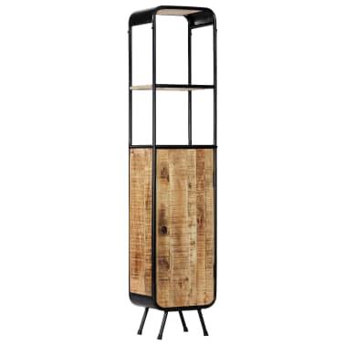 vidaXL Dulap înalt, 40 x 30 x 180 cm, lemn masiv de mango nefinisat[14/14]
