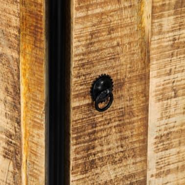 vidaXL Dulap înalt, 40 x 30 x 180 cm, lemn masiv de mango nefinisat[5/14]