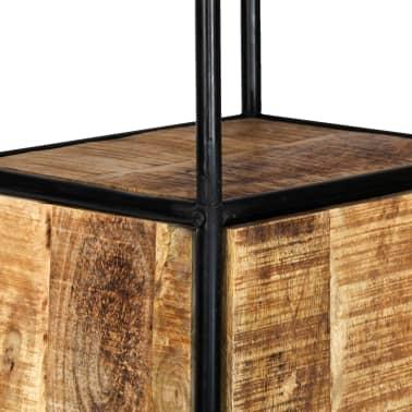 vidaXL Dulap înalt, 40 x 30 x 180 cm, lemn masiv de mango nefinisat[7/14]