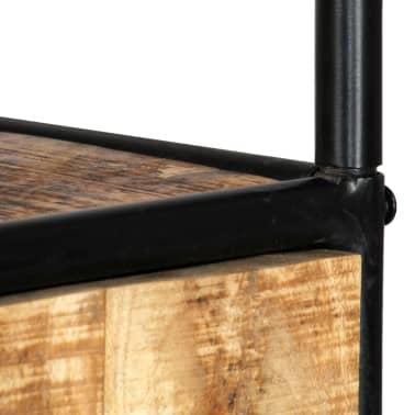 vidaXL Dulap înalt, 40 x 30 x 180 cm, lemn masiv de mango nefinisat[8/14]