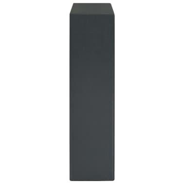 vidaXL Coffre-fort à clés Gris foncé 30 x 10 x 36,5 cm[5/12]