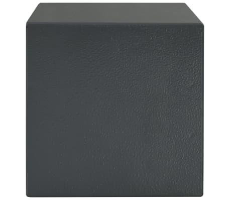 vidaXL Mechaninis seifas, tamsiai pilkas, 23x17x17cm, plienas[4/10]
