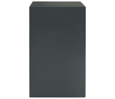 vidaXL Mechaninis seifas, tamsiai pilkas, 35x31x50cm, plienas[4/10]