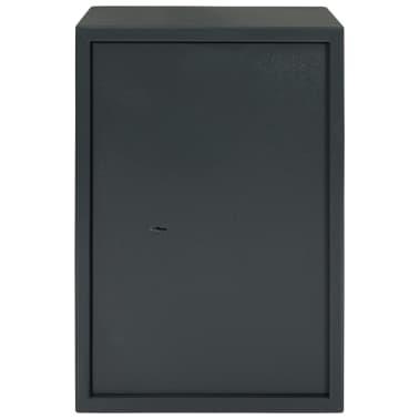 vidaXL Mechaninis seifas, tamsiai pilkas, 35x31x50cm, plienas[2/10]