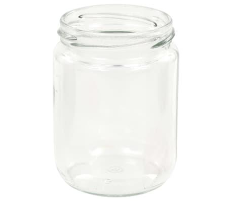 vidaXL Syltburkar i glas med vita och röda lock 96 st 230 ml[5/7]