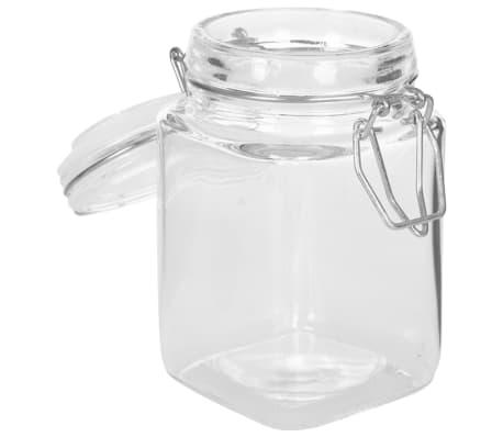 vidaXL Syltburkar i glas med lock 12 st 260 ml[6/8]