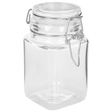 vidaXL Syltburkar i glas med lock 12 st 260 ml[4/8]