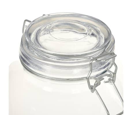 vidaXL Borcane din sticlă cu închidere ermetică, 6 buc., 3 L[5/5]