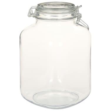 vidaXL Borcane din sticlă cu închidere ermetică, 6 buc., 3 L[3/5]