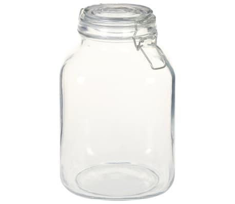 vidaXL Borcane din sticlă cu închidere ermetică, 12 buc., 3 L[2/5]